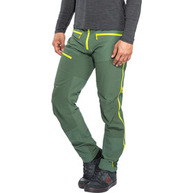 Norrøna Fjørå Flex1 Broek Heren, jungle green